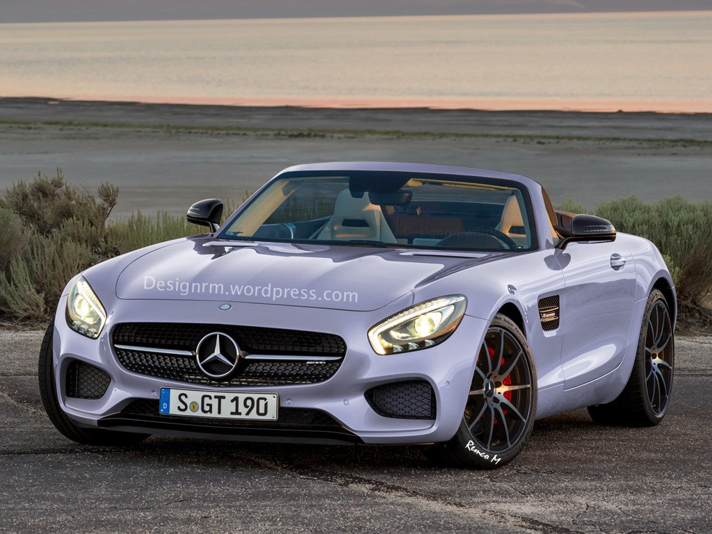 A mercedes amg gt roadster is on the way mercedesblog for Mercedes benz amg gt roadster