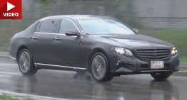 Mercedes E-Class gains a Maybach version and we have the video to prove it