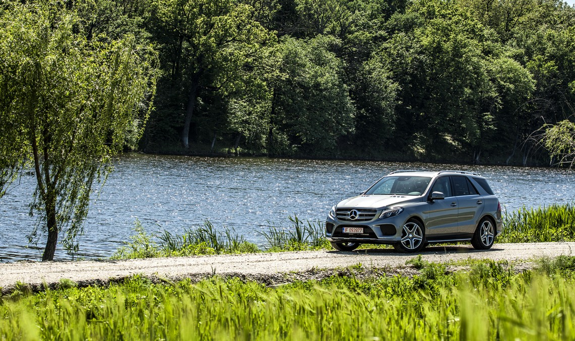 Green Heaven. We give you the first Mercedes GLE 500 e test in every day traffic