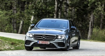 Test with the Mercedes E 220 d: Mentality shift