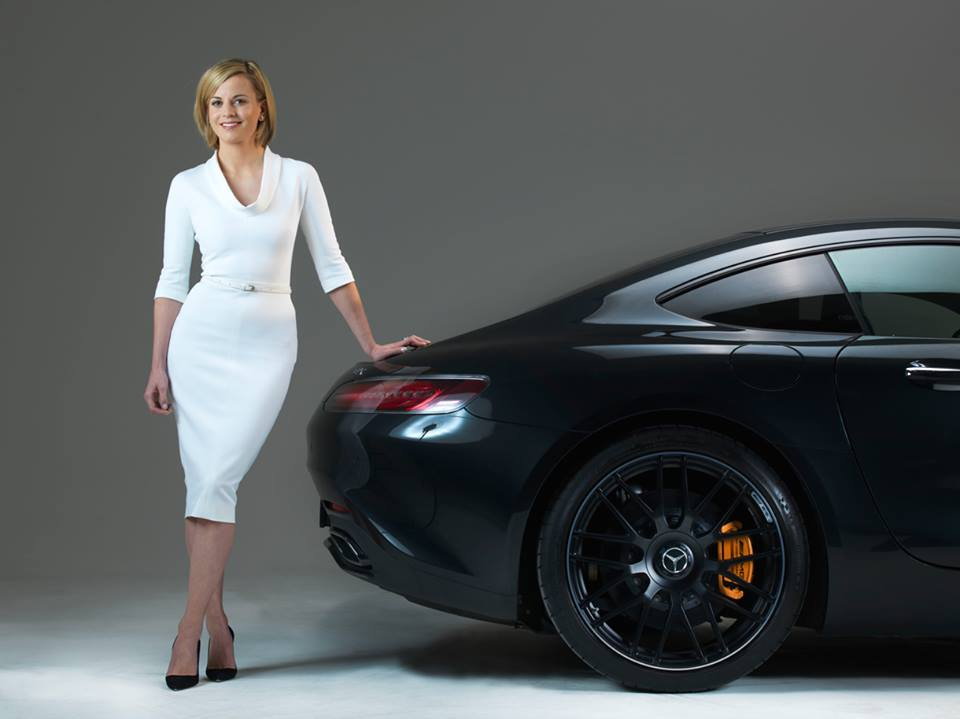 Susie wolff new brand ambassador for mercedes benz for Mercedes benz brand ambassador