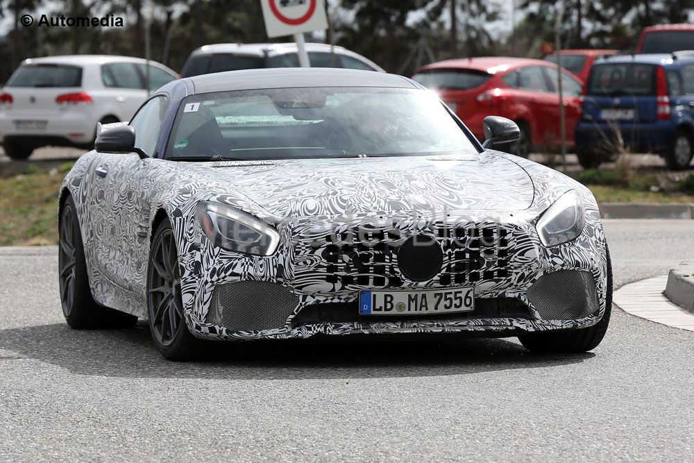 June can't come too soon – The Mercedes-AMG GT R shows up in a month