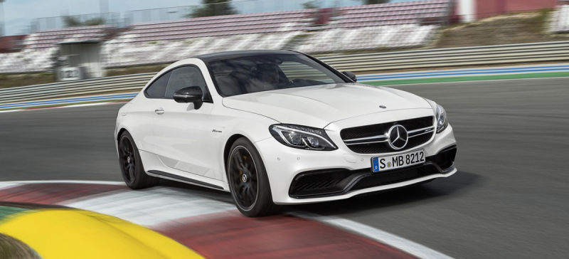 Mercedes-AMG C63 S Coupe. Not like a racer. It is a racer!