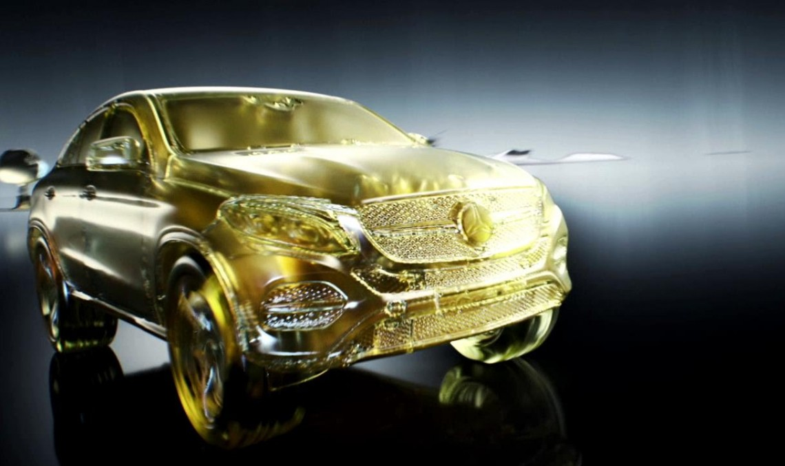 Fluid gold – The genuine Petronas Mercedes Engine Oil