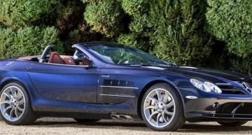 2008 Mercedes-Benz SLR McLaren Roadster auctioned in Monte Carlo