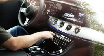 2017 Mercedes E-Class Coupe interior fully revealed