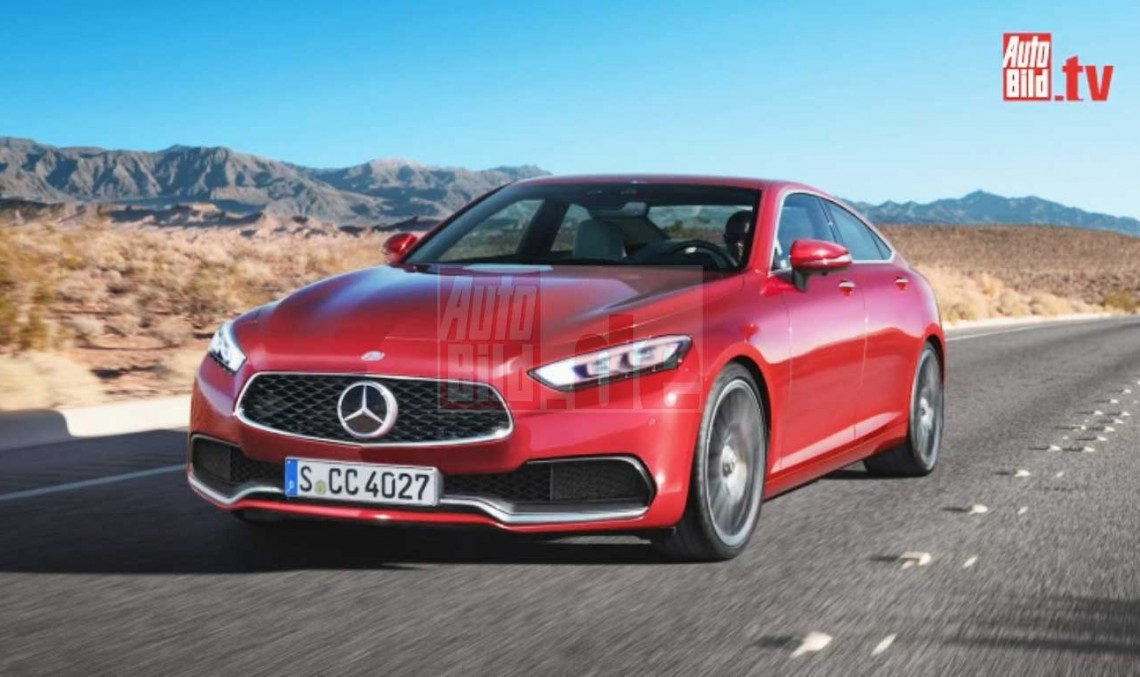 Mercedes CLC: C-Class gets sporty four-door coupe variant
