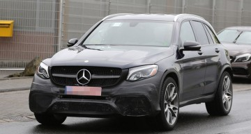 Mercedes GLC AMG 63 sports SUV revealed in new spy pics