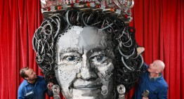 Queen of Parts – Elizabeth II gets her portrait made entirely of car parts