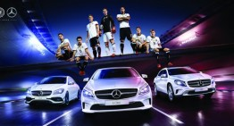 Mercedes-Benz is number one fan for Germany's soccer national team at Euro 2016
