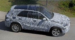 All-new Mercedes GLE caught on video for the first time