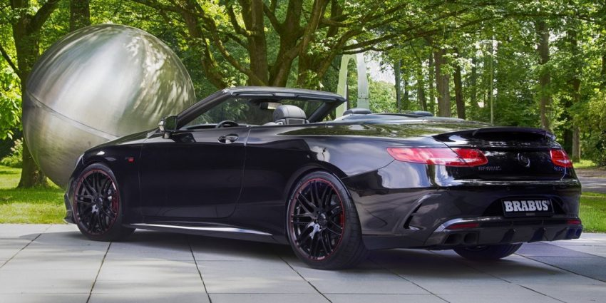 The Titan – The Brabus 850 6.0 Biturbo Cabrio based on the Mercedes-AMG S63 Cabriolet