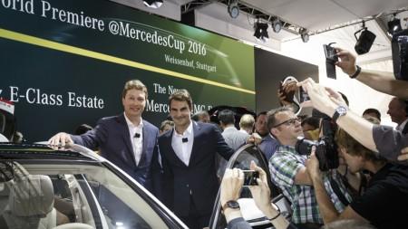 Roger Federer Mercedes-Bnez E-Class
