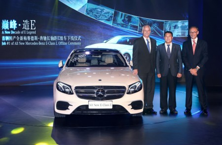 long-wheelbase E-Class in China