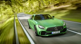 One more for the collection: Mercedes-AMG GT R wins VDI lightweight design award