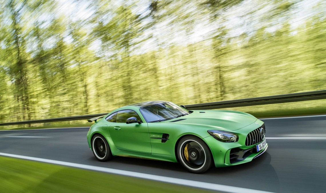Things that you did not know about the Mercedes-AMG GT R