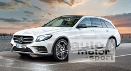 Allroad Benz: Mercedes E-Class T-Modell with off-road ambitions