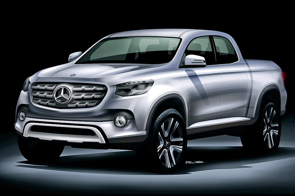 Mercedes GLT Pick-up