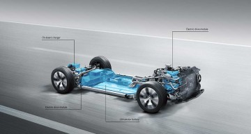 Fully electric Mercedes-Benz platform will be presented at the Paris Motor Show next fall