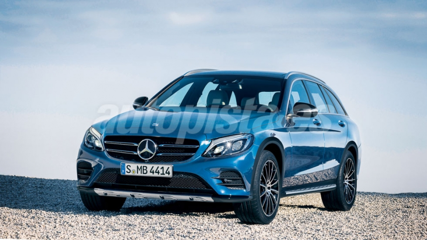 Mercedes C-Class T-Cross, not E-Class Allroad, coming next year