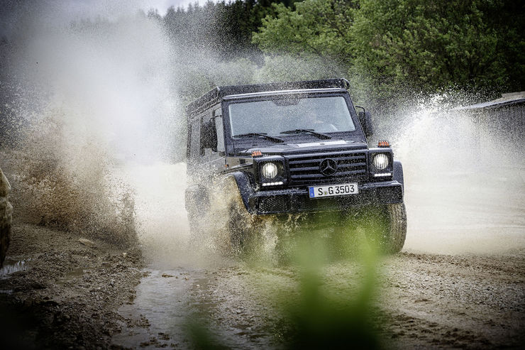 Mercedes G-Class Professional: The purist off-roader