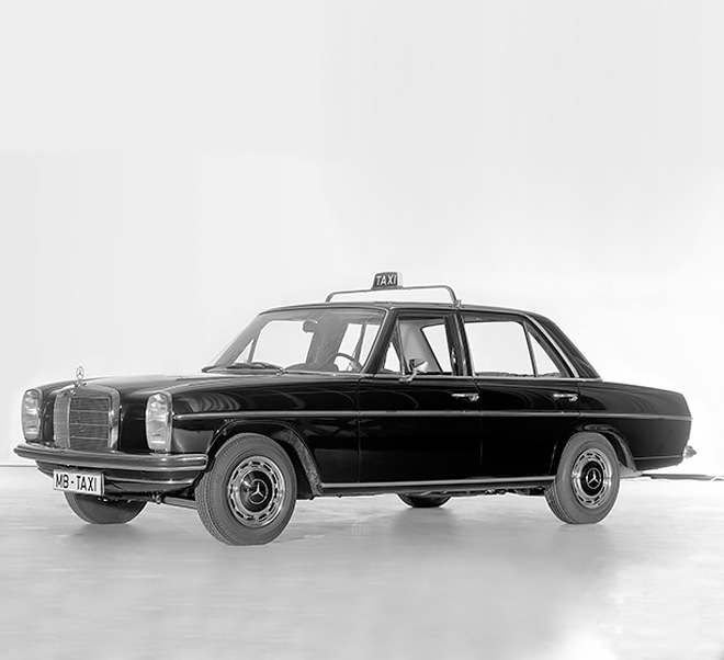 A never ending story mercedes benz taxis throughout for Mercedes benz company history