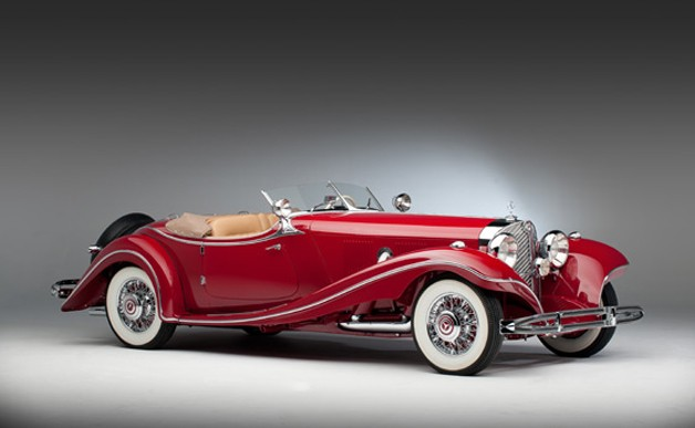Shocking! Stolen Mercedes 500K Hans Prym Roadster leads Bonhams's auction