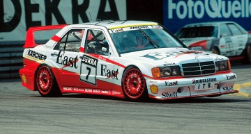 Back on the racerack – DTM legend Kurt Thiim races again in the iconic Mercedes-Benz 190 E 2.5-16 EVO II