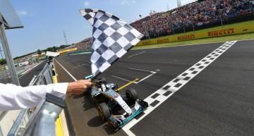 Hamilton hammers Rosberg in Hungary. It's a 1-2 for Mercede-AMG PETRONAS