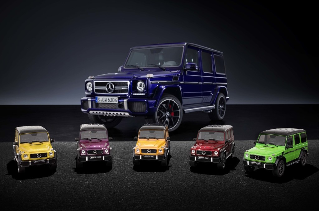 Mini giants – The Mercedes-AMG G 63 Crazy Color in 1:18