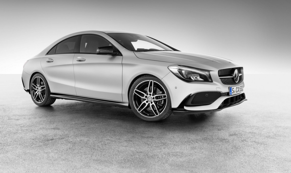 All hyped up – the Mercedes-Benz CLA gets AMG accessories