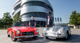 Opposites attract! Joint offer for the Mercedes-Benz Museum and the Porsche Museum