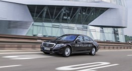 You've served well, comrade! Mercedes-Benz S 500 INTELLIGENT DRIVE retires