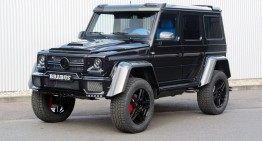 More cubic than the cube itself – The Brabus-tuned Mercedes G500 4×4²