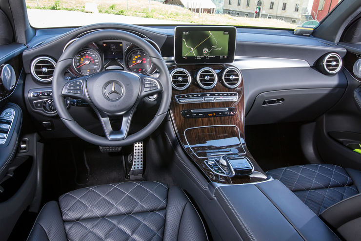 Mercedes GLC Coupe driving report (10)