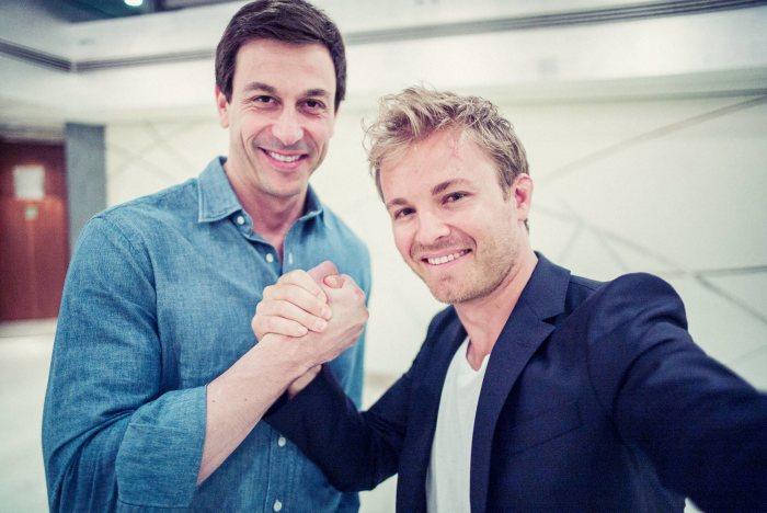 Nico Rosberg contract