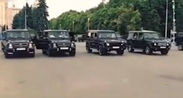 James Bond wannabes Russian spies sent to Siberia after partying in Moscow in G-Class SUVs