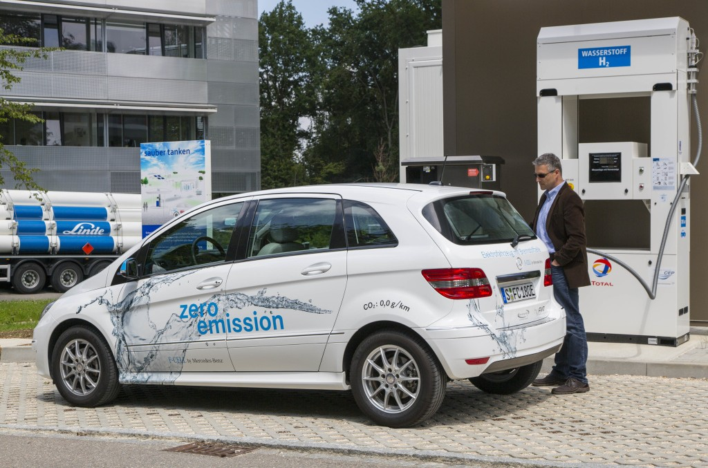 New hydrogen refueling station opens in Germany