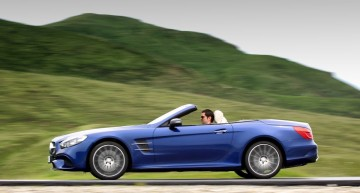 Next-gen Mercedes SL to be built on AMG GT platform