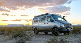 Godzilla got married. SPORTSMOBILE Mercedes Sprinter 4×4 Camper
