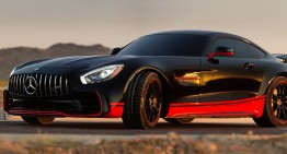 Transformers The Last Knight newest star is Mercedes-AMG GT R