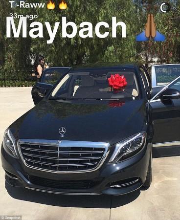 Maybach Kylie Jenner