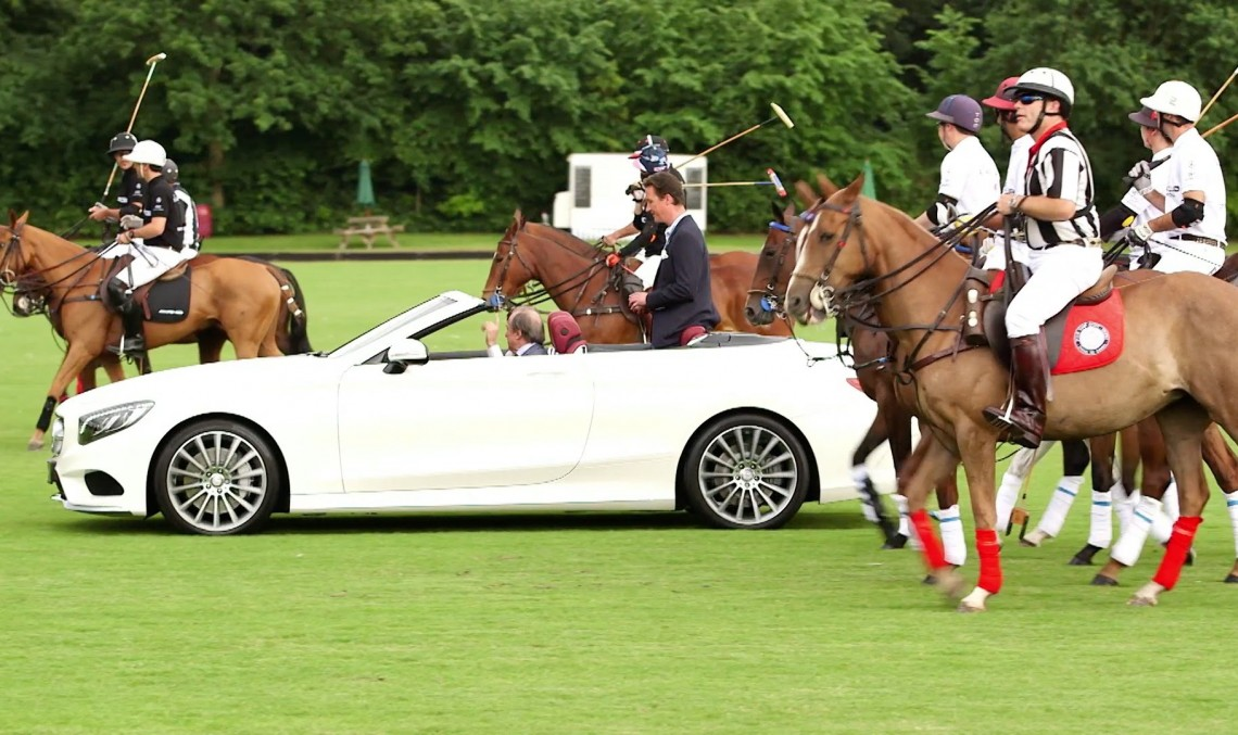 Purebred horses and AMG horsepower at the King Power Polo Cup 2016