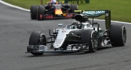 Rosberg rocks Spa, Hamilton ends third