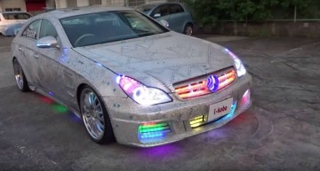 The night club Mercedes CLS