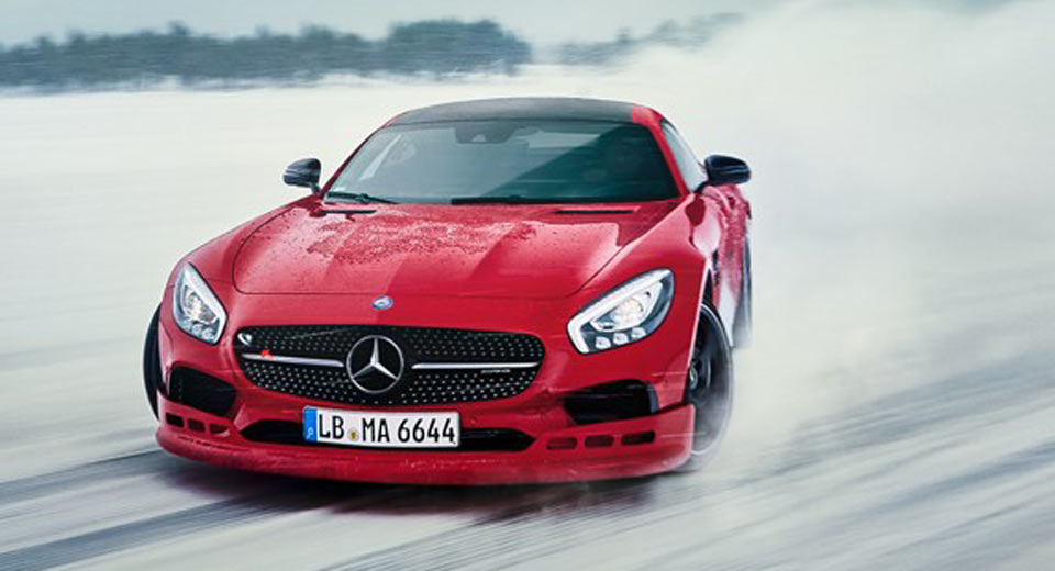 Americans wanted for the AMG Winter Driving Experience