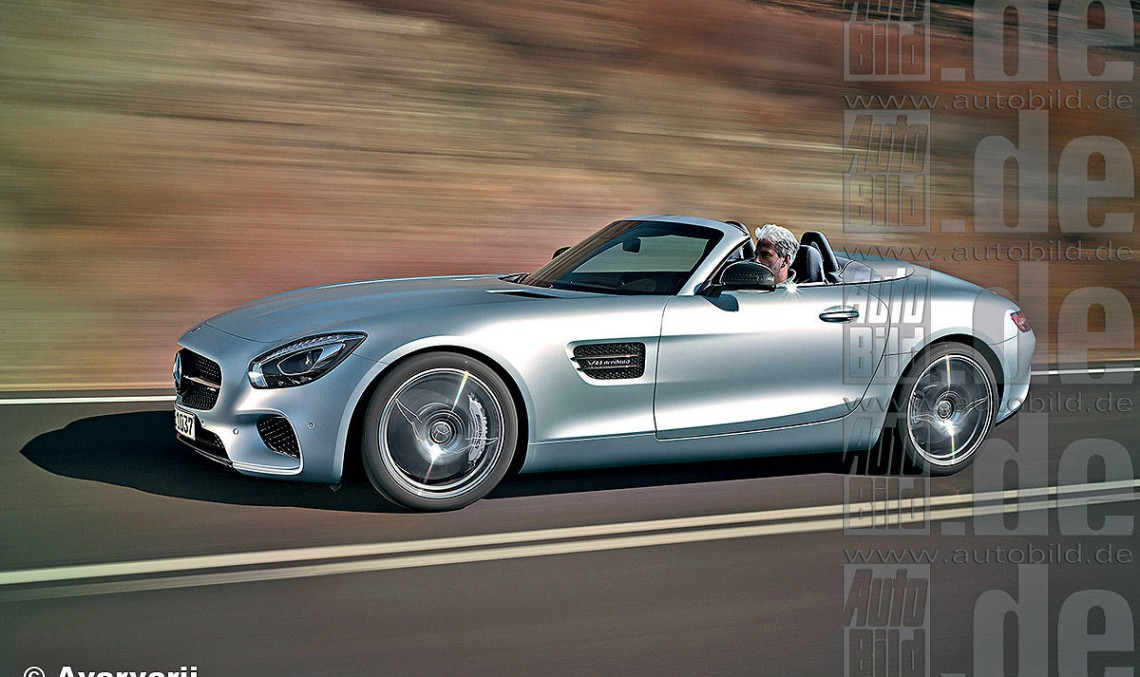 mercedes-amg gt c roadster. open top gt lands in paris - mercedesblog