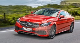 Mercedes CLC: 4-door C-Class Coupe comes in 2019