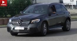 Mercedes-AMG GLC 63 is here – NEW SPY VIDEO