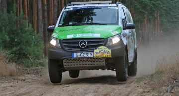 Mercedes Vito Rallye Aïcha des Gazelles winner tested by AMS